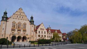 Collegium Minus de la Universidad Adam Mickiewicz de Poznan