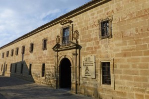 Portada principal del Seminario de San Felipe Neri en Baeza