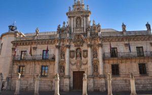 Edificio barroco del Ayuntamiento de Valladolid