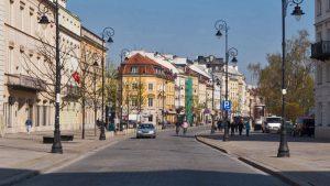 Calles del casco histórico de Varsovia, declarado Patrimonio de la Humanidad