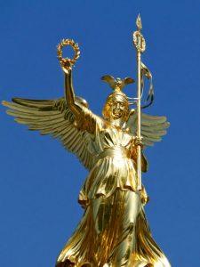 Estatua Diosa Victoria en Berlín