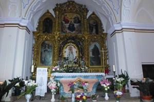 Imagen de la Virgen de Chilla, patrona de Candeleda