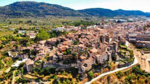 Vista panorámica de Bocairente, uno de los pueblos más bonitos de Valencia