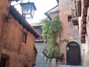 Detalles de las callejuelas de Albarracín