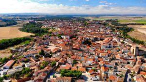 Vista aérea de Arévalo