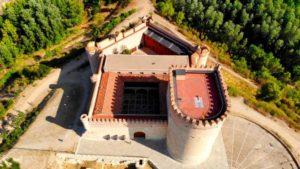 Vista aérea del Castillo de Arévalo