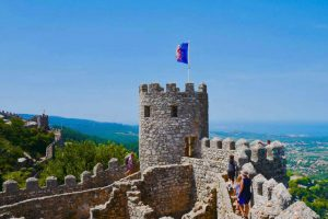 Vistas de Sintra desde el Castelo dos Mouros