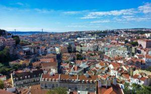 Vistas panorámicas de Lisboa
