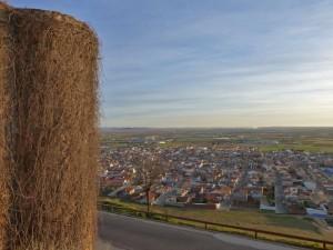 Vistas de Consuegra desde el Castillo de la Muela