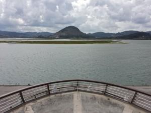 Vista de la Marisma de Santoña desde el Mirador de las Marismas
