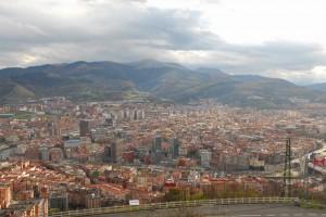 Bilbao a los pies del Monte Archanda