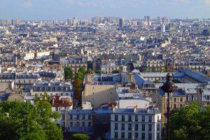 Vistas de París desde la Basílica del Sagrado Corazón