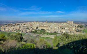 Vistas de Toledo desde el Parador de Turismo