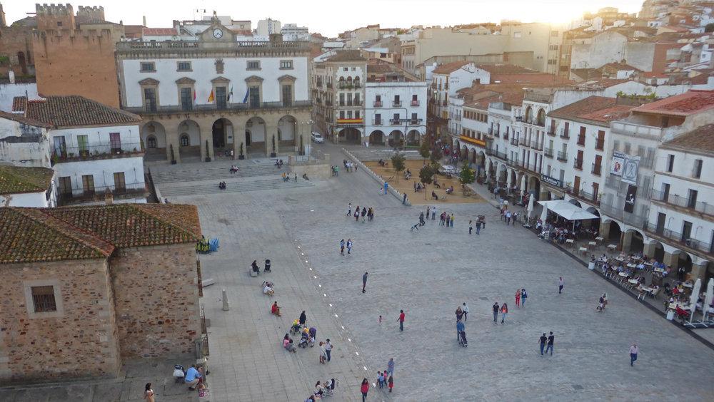 Transporte de Cáceres