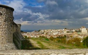 Chinchón visto desde el Castillo de los Condes
