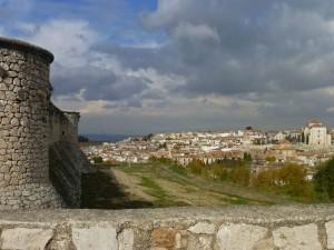 Chinchón vista desde el Castillo de los Condes