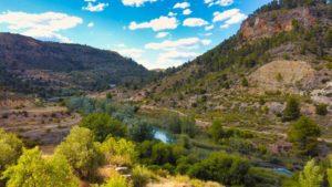 Vistas del río Cabriel desde el Mirador del Reloj Solar
