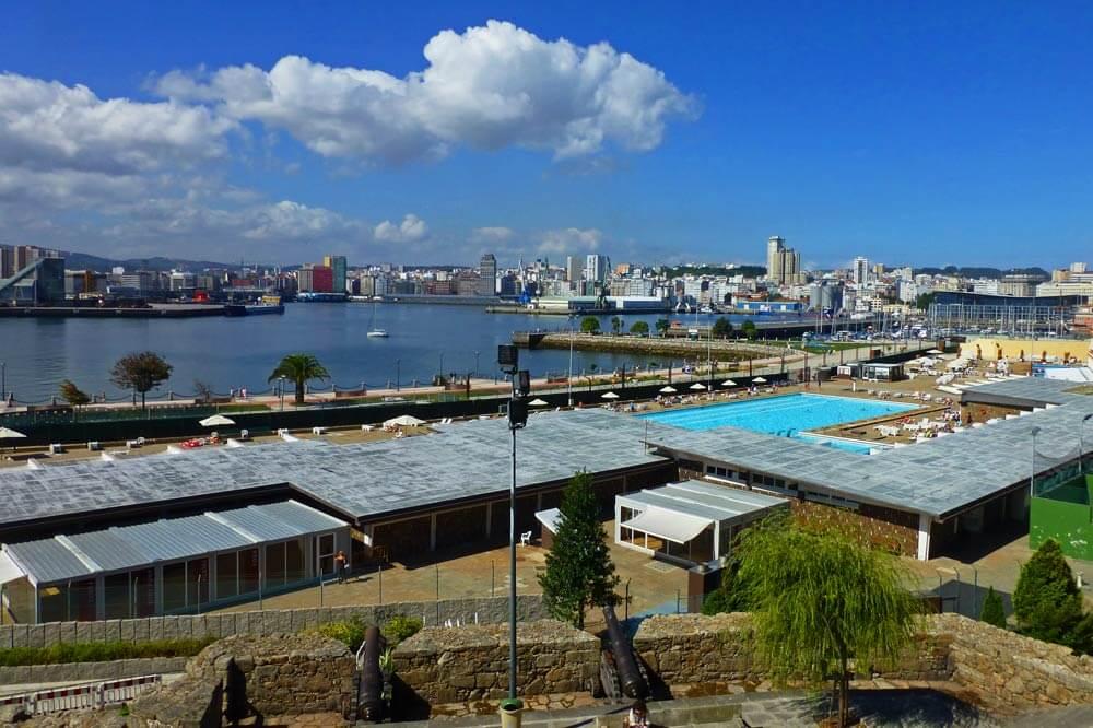 Tarjeta turística de La Coruña