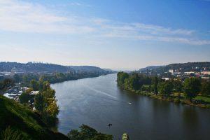 Vistas de Praga desde la colina de Vyšehrad