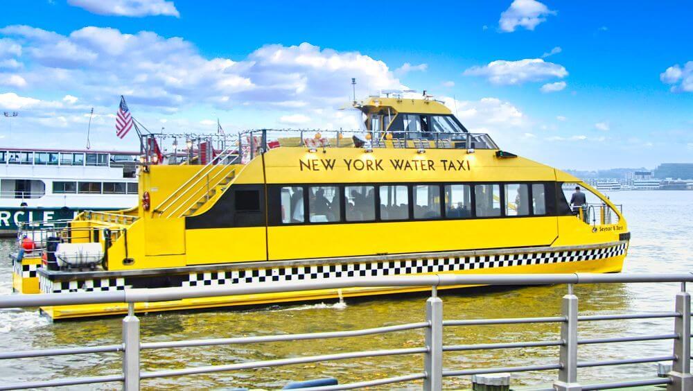 Water Taxi, la forma más pintoresca de moverse por Nueva York