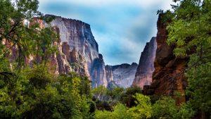 Cañón Zion, el principal atractivo del Parque Nacional Zion