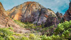 Formaciones rocosas del Parque Nacional Zion, en Utah