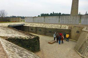 Zona de fusilamiento del Campo de Concentración Sachsenhausen