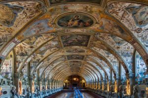 Sala de Antigüedades oAntiquarium de la Residencia de Múnich