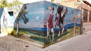 Mural del Camino de Santiago