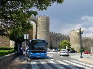 Autobús urbano de Ávila, transporte de Ávila