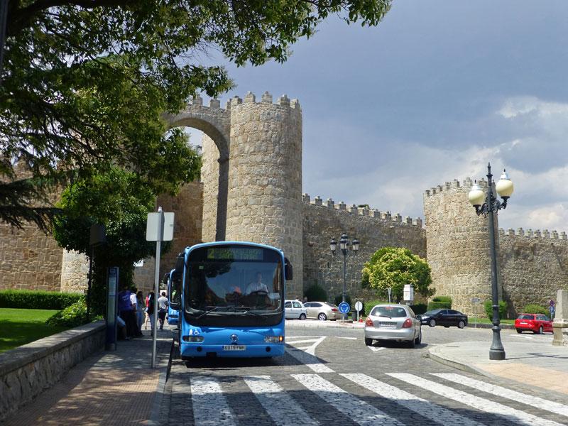 Transporte de Ávila