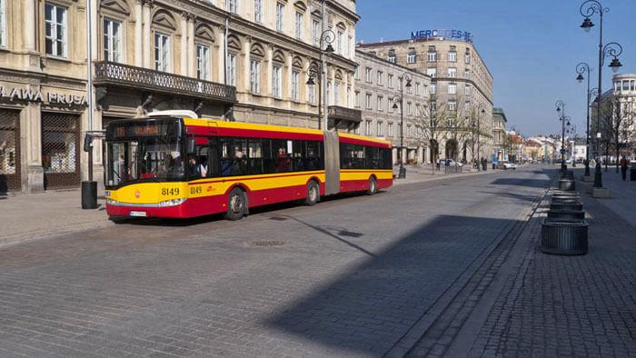 Cómo moverse por Varsovia, transporte público