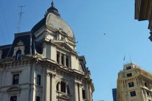 Edificios de la Avenida de Mayo en Buenos Aires