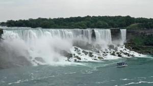 Cataratas del Niágara o Niagara Falls, espacio natural compartido por Estados Unidos y Canadá