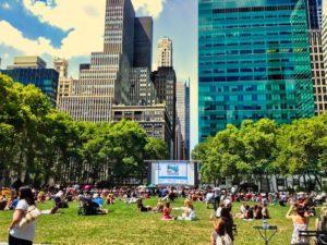 Bryant Park, un oasis en pleno corazón de Manhattan