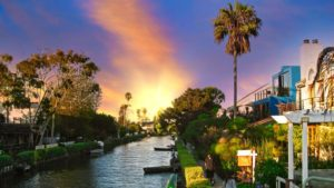 Canales de Venice en Los Ángeles