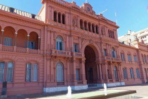 Casa Rosada, sede del Gobierno Nacional de la República Argentina