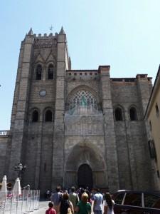 Portada principal de la Catedral de Ávila