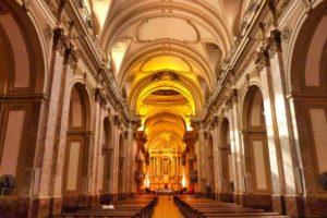 Interior de la Catedral Metropolitana de Buenos Aires