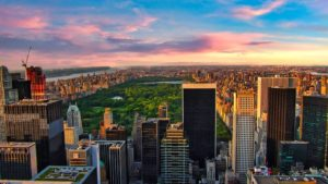 Central Park en el corazón de Manhattan
