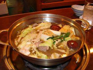 Chanko-nabe en Ryogoku, la comida tradicional de los sumotori