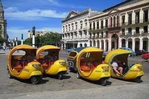Cocotaxis, uno de los medios de transporte más pintorescos de La Habana, cómo moverse por La Habana