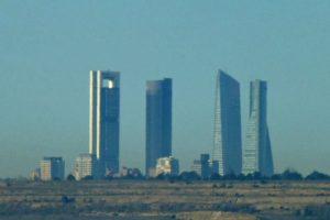 Cuatro Torres Business Area, el conjunto de rascacielos más alto y moderno de Madrid
