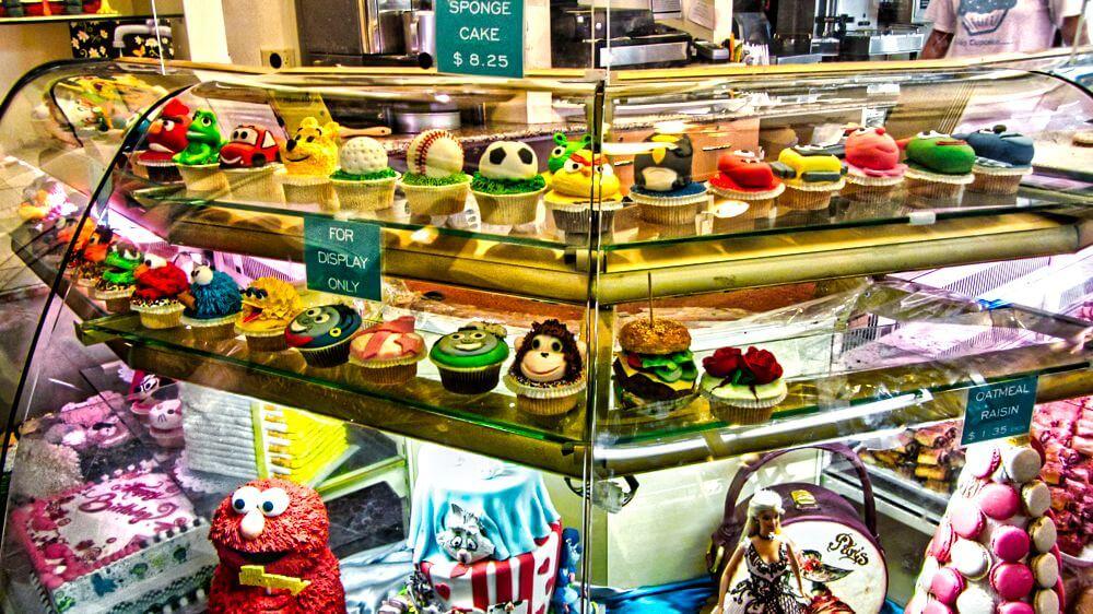 Cupcakes en Chelsea Market