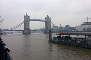 Embarcadero junto al Puente de la Torre