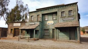 Poblado del oeste de Fort Bravo (Texas Hollywood)