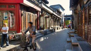 Hutong de Pekín, antiguo barrio tradicional