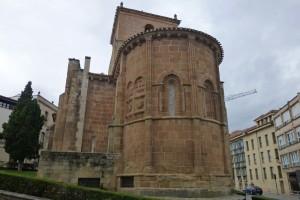 Ábside de la Iglesia de San Juan de Rabanera, iglesias de Soria