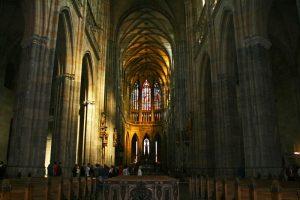 Nave central de la Catedral de Praga