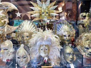 Máscaras venecianas, un símbolo del Carnaval de Venecia